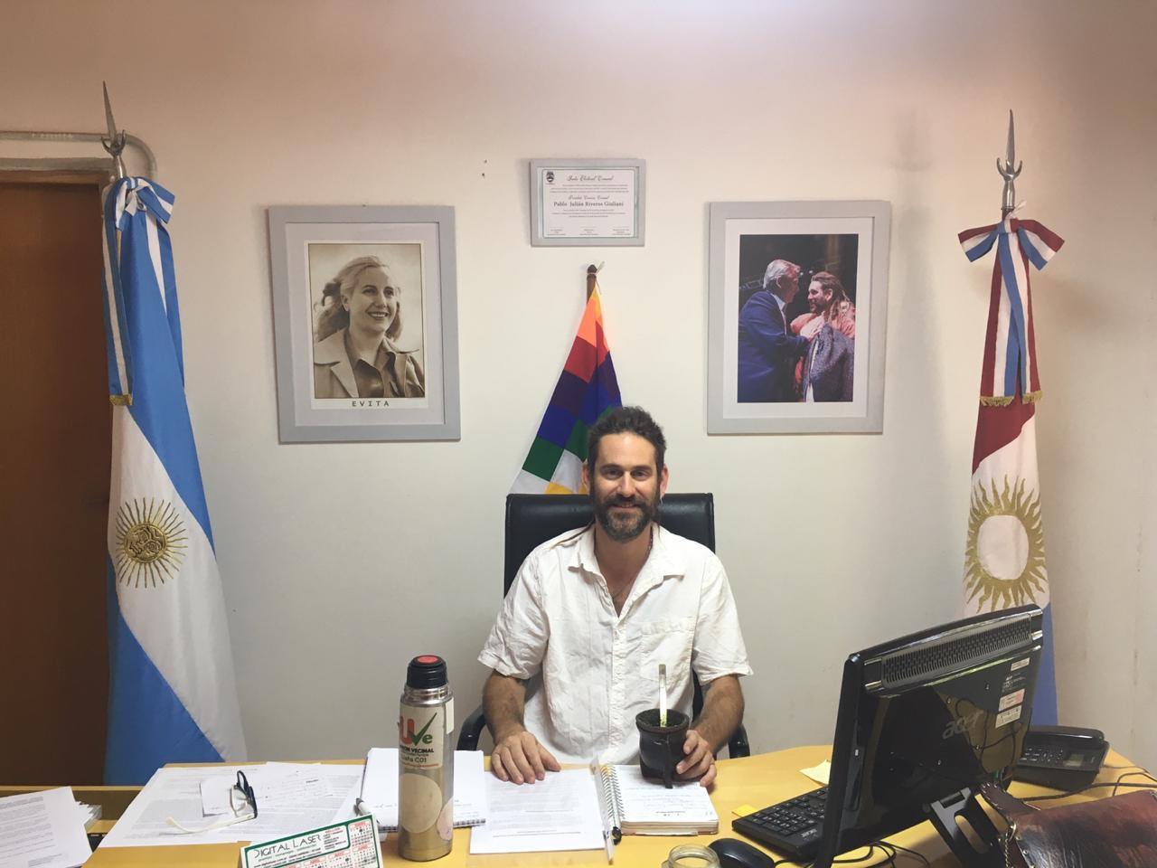 Nota con Pablo Riberos Jefe Comunal de Ciudad Villa Parque