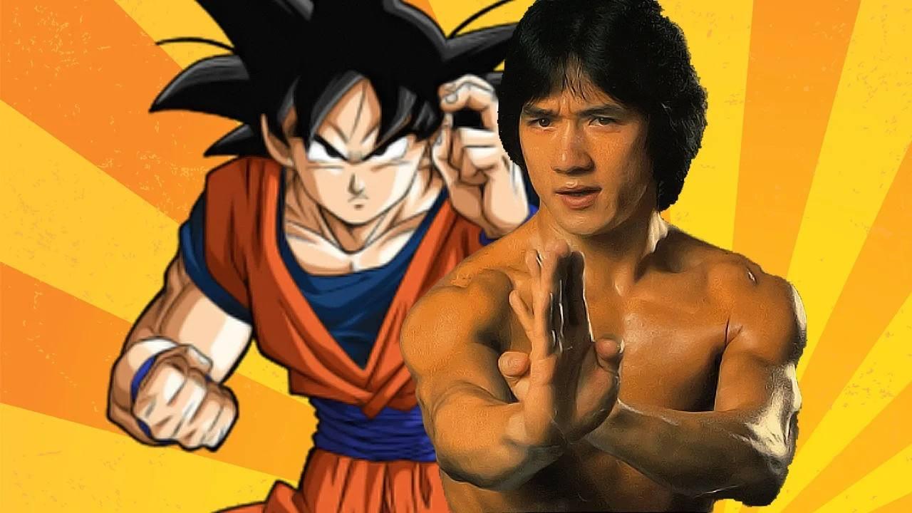 Toriyama le rinde homenaje a Jackie Chan durante la serie de Dragon Ball