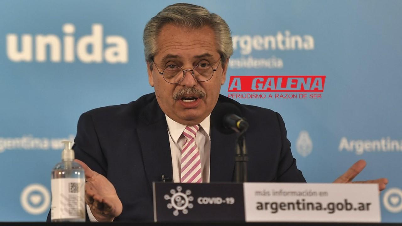 Fernández: «La producción latinoamericana de la vacuna será en Argentina y México»